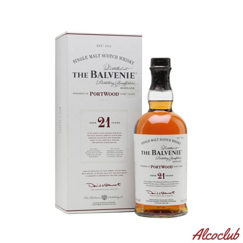Balvenie 21 yo Portwood 0,7 л. купить с доставкой