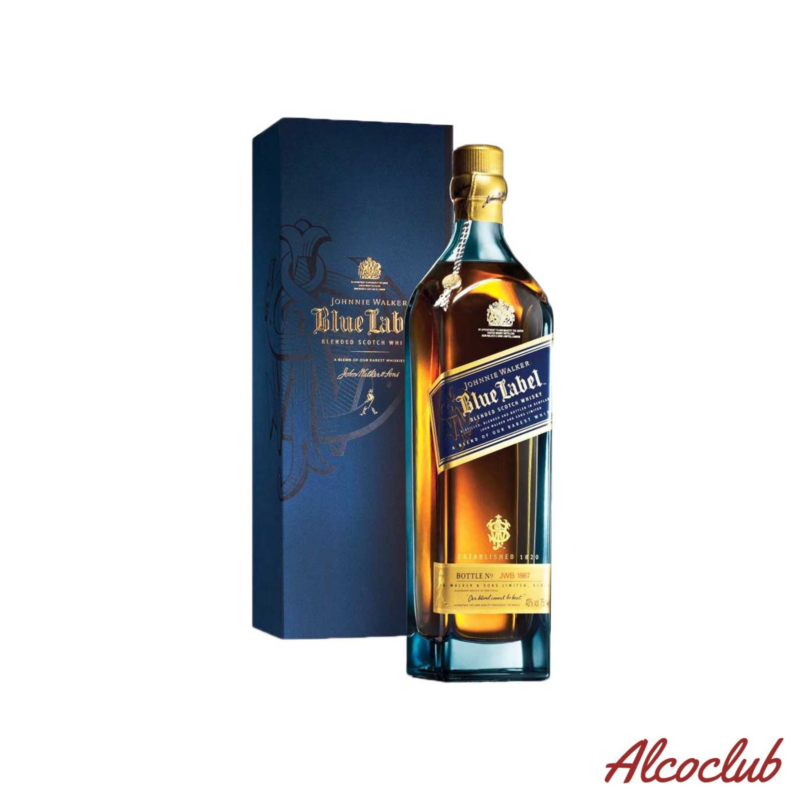 Johnnie Walker Blue label в коробке 0.75 купить с доставкой