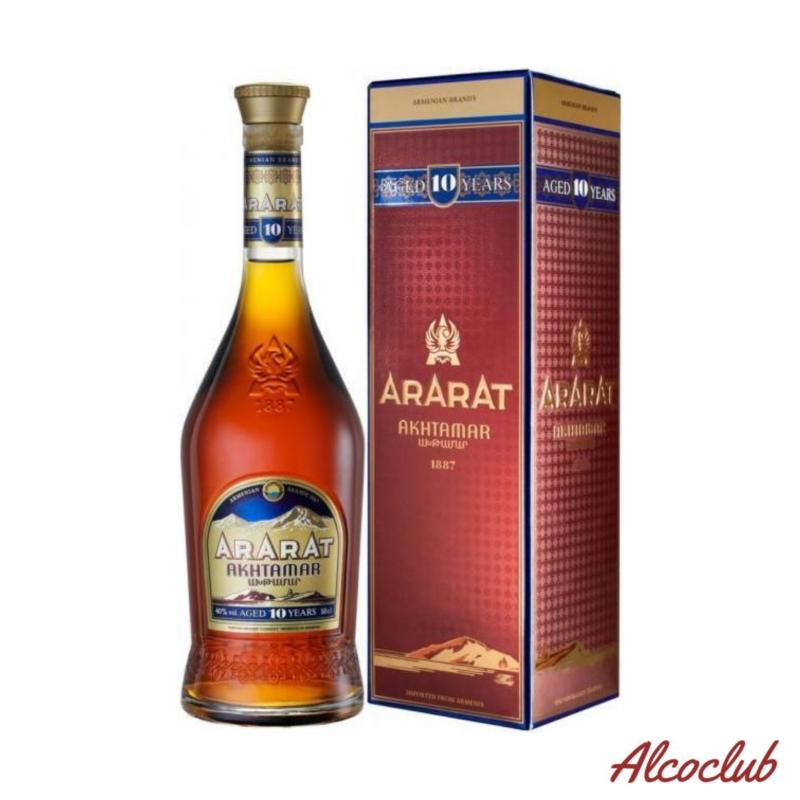 Ararat Akhtamar 10 лет 0,7л. 40% Купить в Украине с доставкой