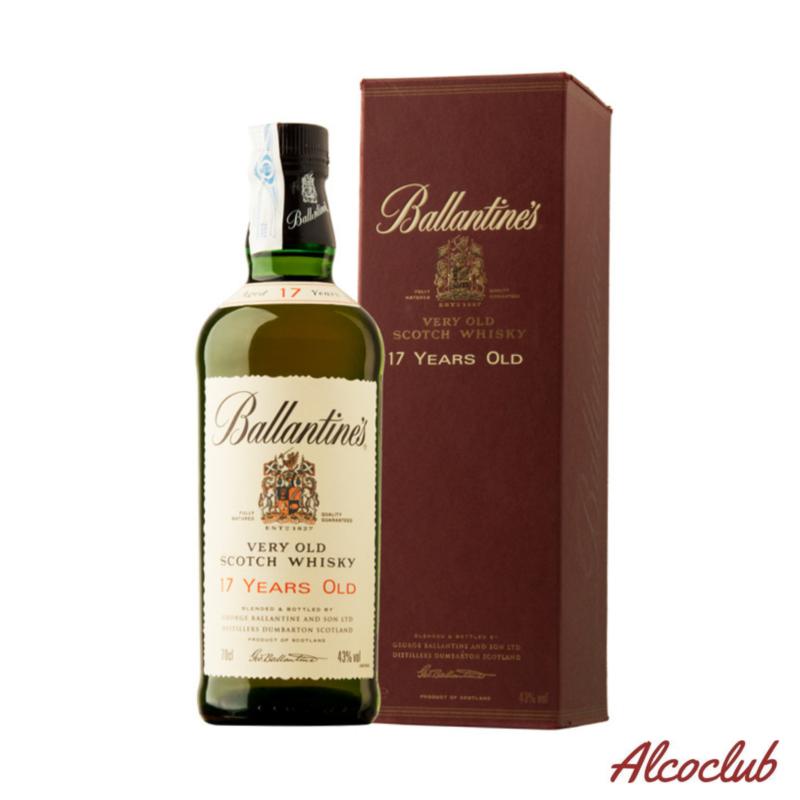 Ballantine's Very Old 17 лет 0,7л. 40% Купить в Киеве с доставкой