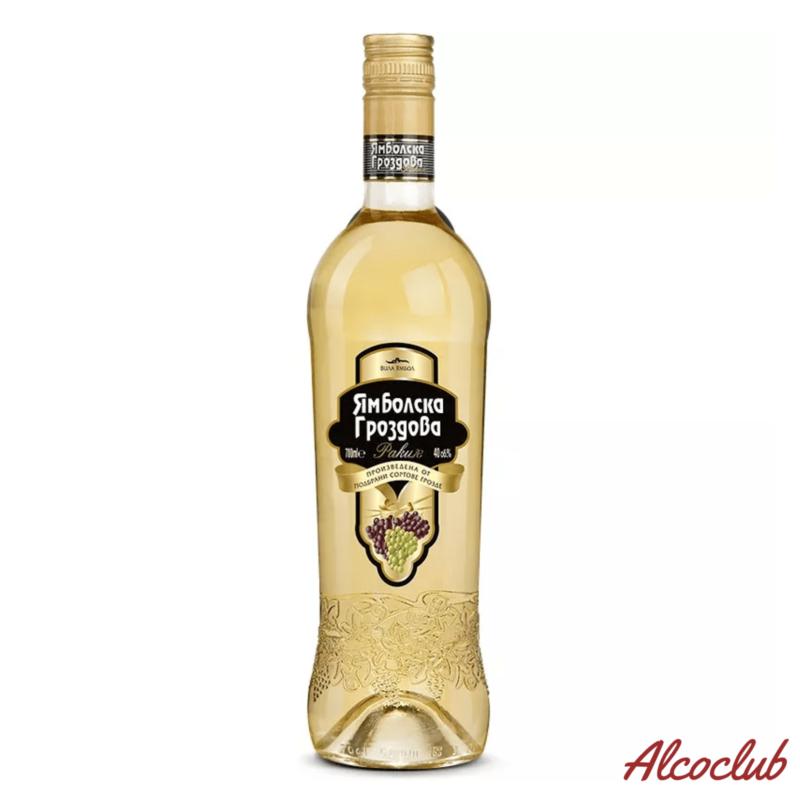 Ракия Yambol виноградная Yambolska 0,7л