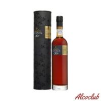 Вино креплёное красное, портвейн WARRE'S OTIMA 20 Y.O. PORT, 0,5л. 20% в тубусі Купить с доставкой по Украине