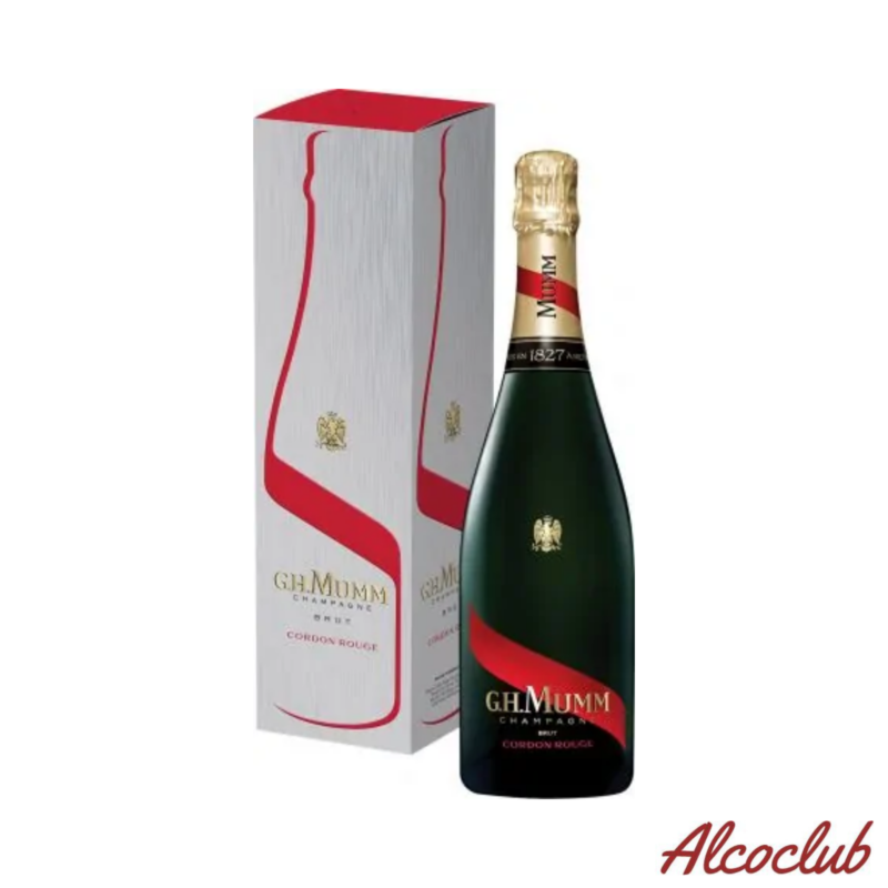 Шампанское Mumm Cordon Rouge Brut 0.75л. 12% в кор. Купить в Украине с доставкой