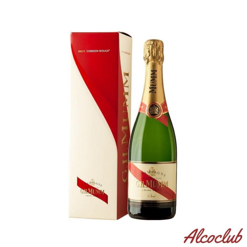 Шампанское Mumm Grand Cordon Brut 0.75л 12% в кор. Купить в Киеве