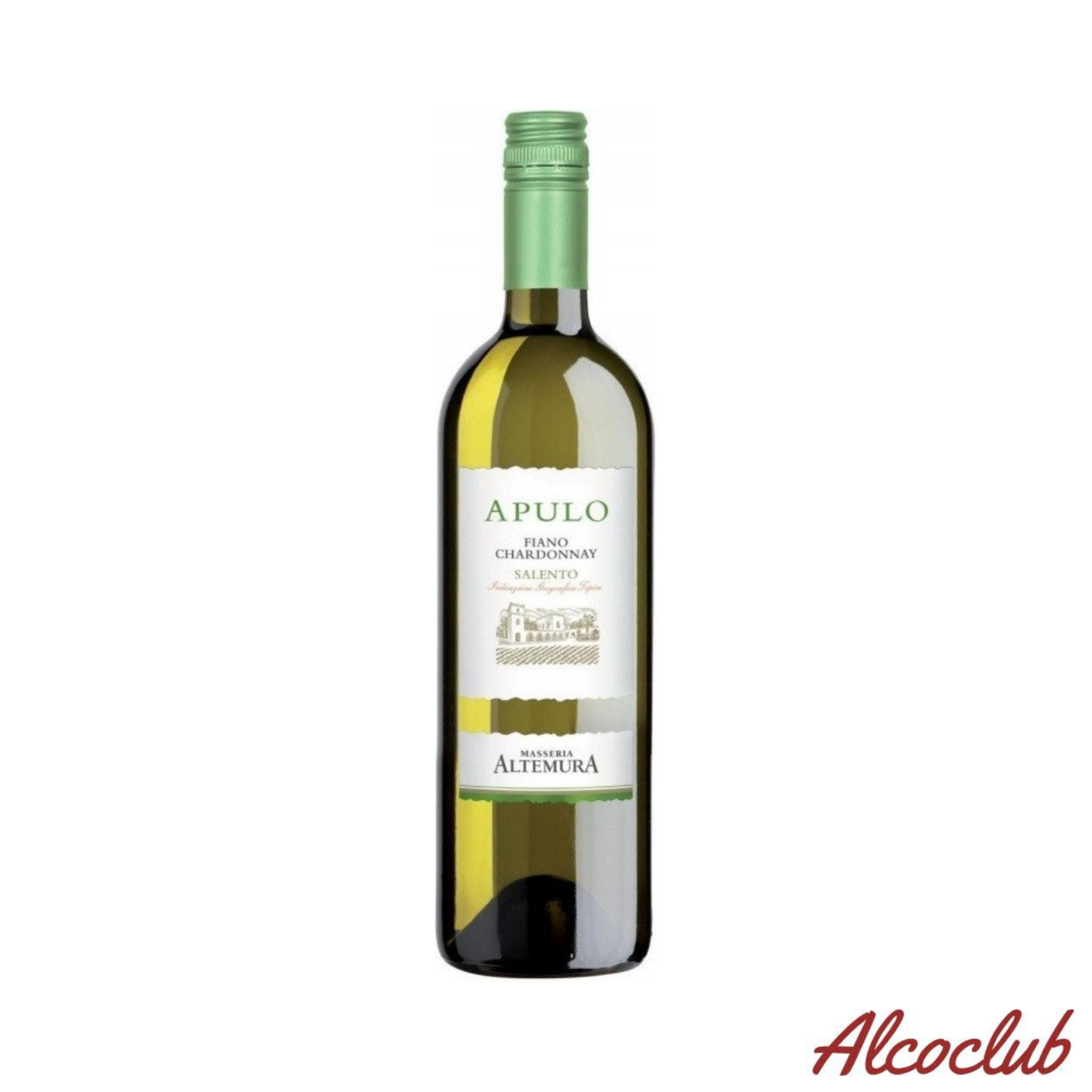 Altemura Apulo «Fiano-Moscato Bianco IGT» (н/сухое, белое,) Купить с доставкой