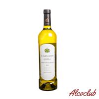 Вино VIN DU CHILI SAUVIGNON WHITE белое сухое 0.75л купить с доставкой