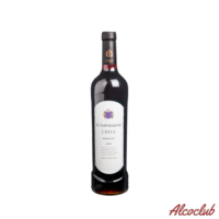 Купить с доставкой Червоне сухе вино сортове натуральне VIN DU CHILI MERLOT RED, концентрація спирту 13,5 % Чили
