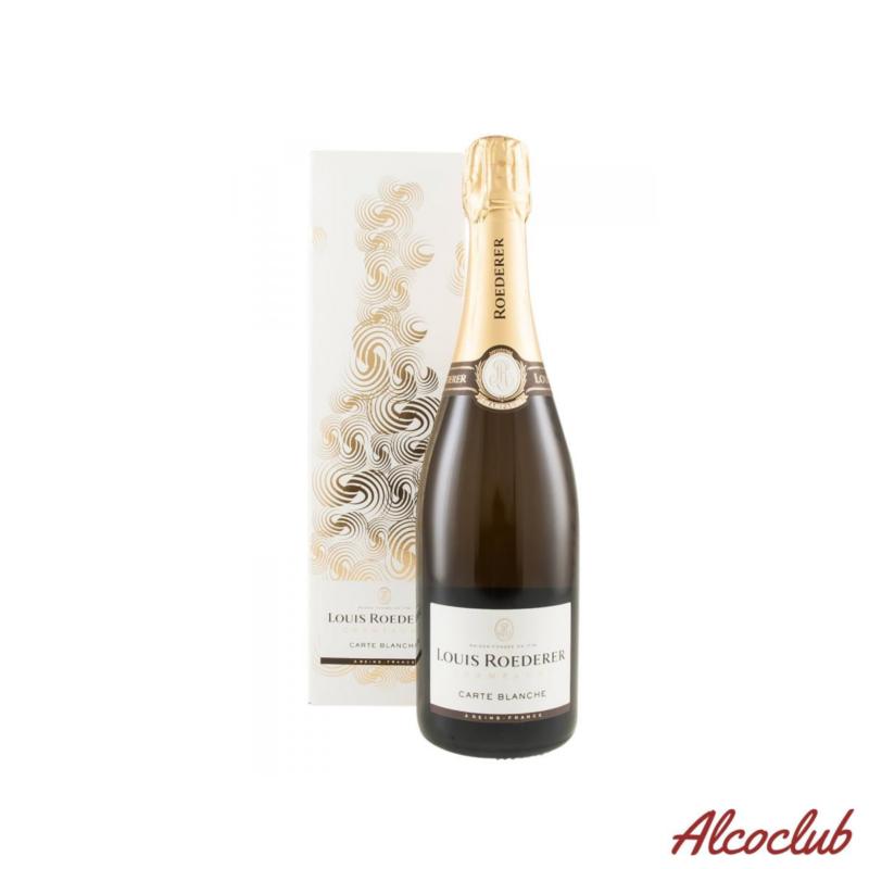 Купить в Украине шампанское Louis Roederer Demi Sec Carte Blanche Франция