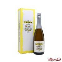 Купить белое шампанское Louis Roederer Nature Brut Philippe Starck Vintage 2009 DeLuxe Gift Box Франция
