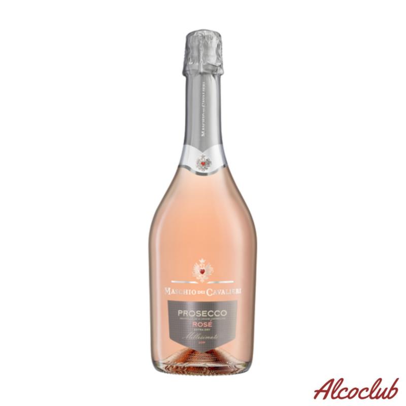 Заказать в Украине вино Maschio dei Cavalieri Prosecco Rose Extra Dry DOC Spumante Millesimato Италия