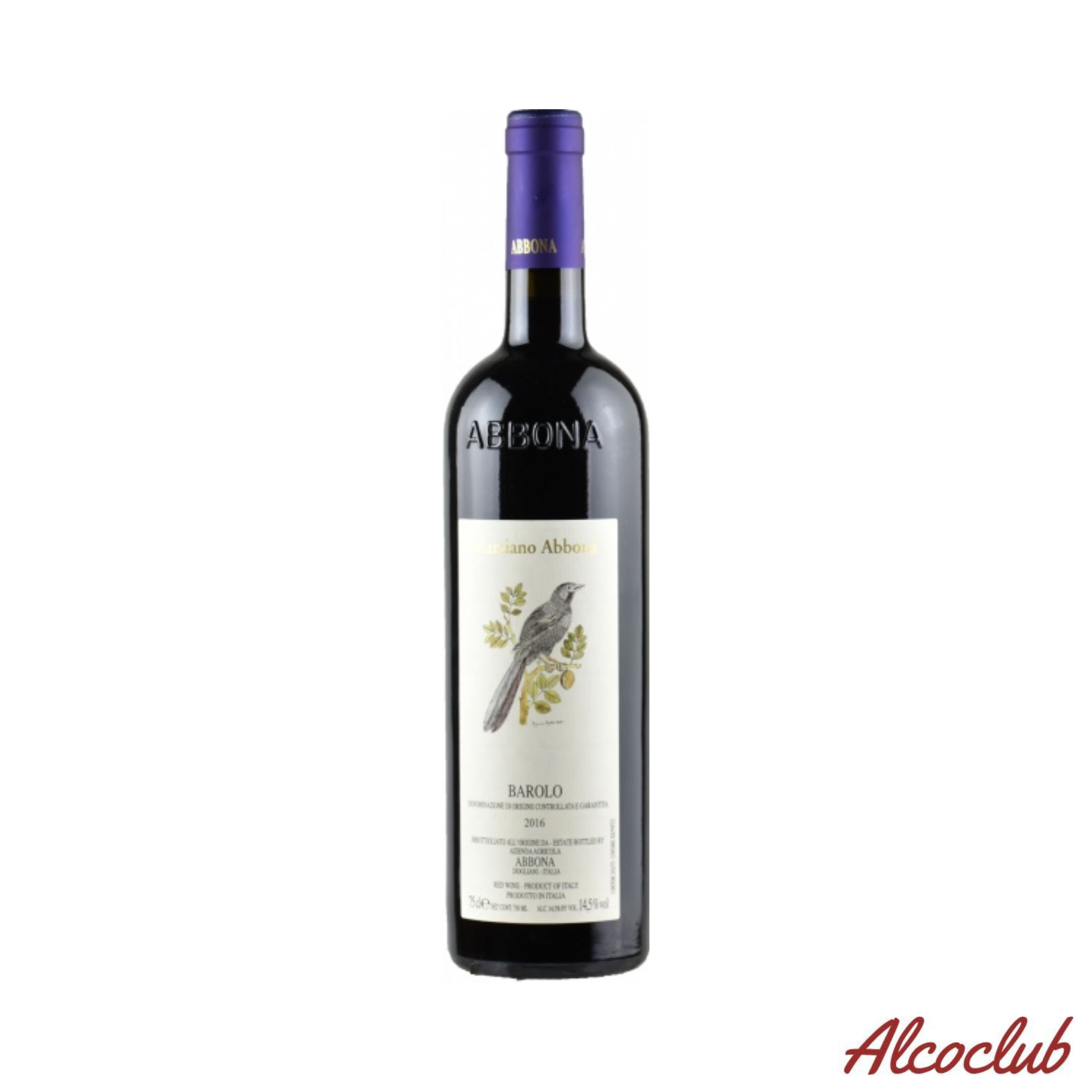 Заказать сухое вино Abbona Barolo DOCG 2016 Италия