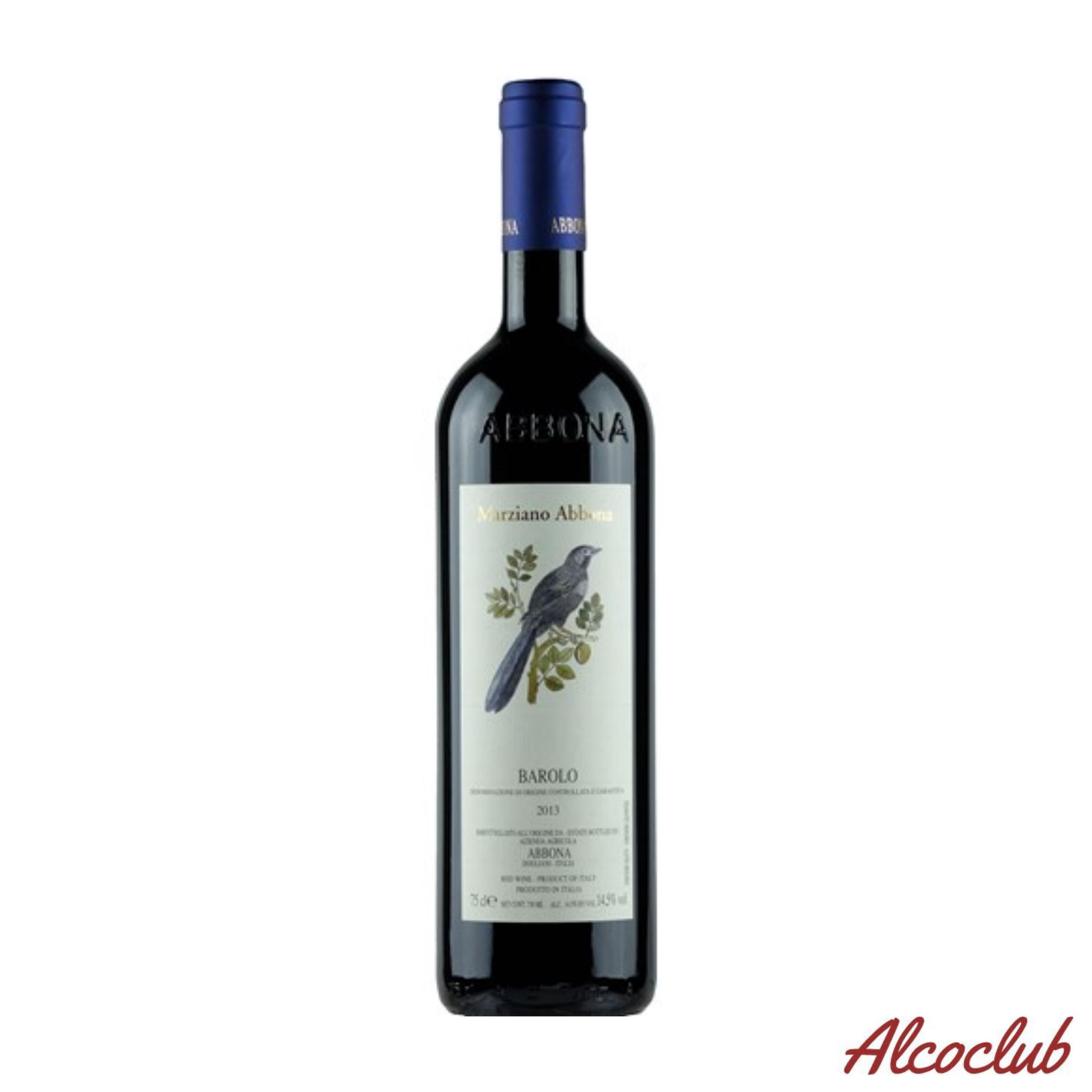 Заказать в Украине сухое вино Abbona Barolo DOCG 2013 Италия