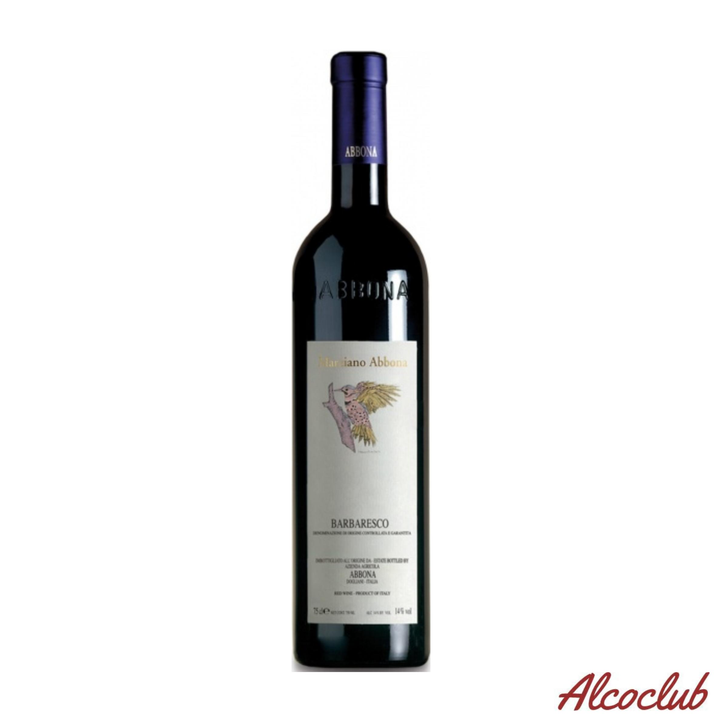 Заказать в Украине сухое вино Abbona Barbaresco DOCG 2015 Италия