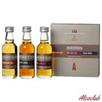 Купить в Украине виски Auchentoshan Collection 3 x 0,05 l Miniaturen Шотландия