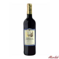 Купить в Киеве с доставкой Вино Baron de Lirondeau, красное полусладкое 0.75л Франция