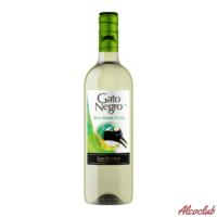 Купить в Украине Вино Gato Negro, белое полусладкое 0.75л Чили