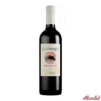 Купить в Киеве с доставкой Вино Gato Negro, красное полусладкое 0,75 л Чили